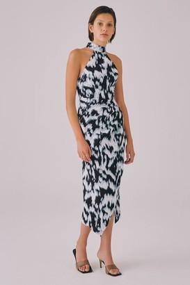 C/Meo NEW STAGE DRESS Ivory Ink Dye