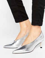 Asos SUZIE Pointed Kitten Heels