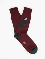 Paul Smith Dinosaur Motif Socks