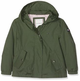 Tommy Hilfiger Girl's A-line Short Parka Coat