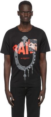 Givenchy Black Rare Print Patch T-Shirt