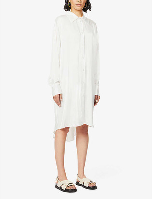 Designers Remix Mea collared shirt mini dress