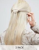 Asos Pack of 2 Geo Hair Clips
