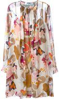 MSGM printed shift dress