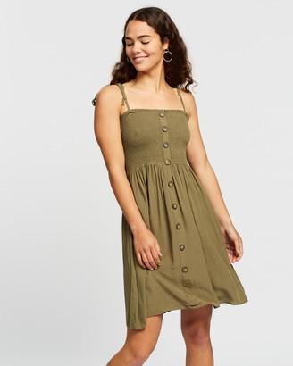 Only Annika Sleeveless Smock Dress