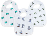Aden Anais Aden + anais Jungle Jam Snap Bibs