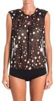 Elisabetta Franchi Women's Black Polyester Bodysuit.