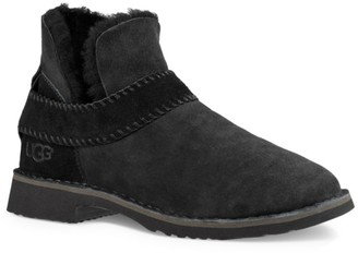 UGG Mckay Sheepskin-Lined Suede Ankle Boots