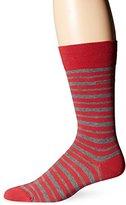 HUGO BOSS Men's Marc Design Striped Crew Sock