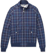 GoldenBear Golden Bear - Grid-Checked Cotton-Poplin Blouson Jacket
