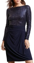 Lauren Ralph Lauren Petites Sequin Bodice Dress