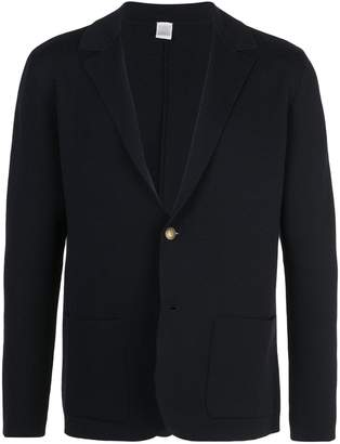 Eleventy knitted single-breasted blazer