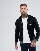 Emporio Armani Lounge Hoodie in Black