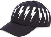 Neil Barrett lightning bolt hat