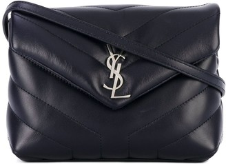 Saint Laurent Loulou quilted crossbody bag