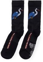 Heron Preston Crane intarsia socks