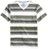 American Rag Men's Striped V-Neck T-Shirt, Only at Macy's