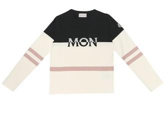 Moncler Enfant Stretch-cotton top