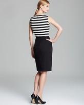 Jones New York Collection Stripe Sleeveless Dress