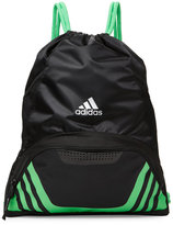 adidas Black & Lime Team Speed II Sack Pack