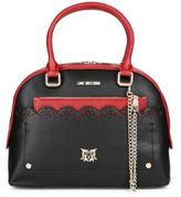 Love Moschino Cutout Scalloped Handbag
