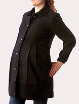 Button Front Maternity Coat