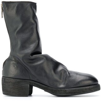 Guidi Slouched Leather Boots