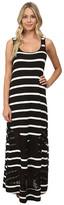 Kensie Light Weight Viscose Spandex Maxi Dress KS6K7592