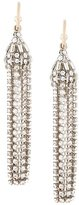 Roberto Cavalli Swarovski crystal drop earrings