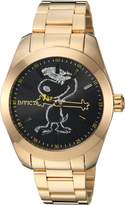 Invicta Men's 'Character Collection' Quartz and Stainless Steel Casual Watch, Color:Gold-Toned (Model: 24938)
