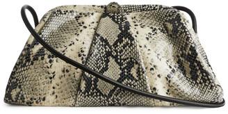 Arket Leather Clutch Bag