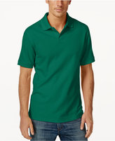 Club Room Short Sleeve Solid Estate Performance Sun Protection Polo, Only at Macy's