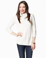 Charming charlie Shimmer Flyaway Cowl Sweater