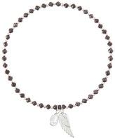 Accessorize Sterling Silver Crystal & Wing Bracelet
