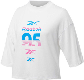 Reebok Womens Workout Ready MYT Graphic Tee
