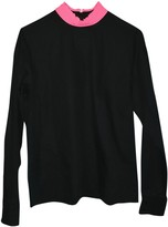 Cédric Charlier Black Cotton Top for Women