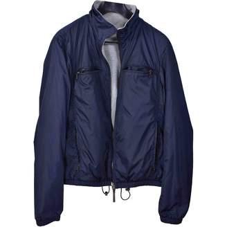 Prada Blue Cotton Jackets