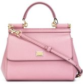 Dolce & Gabbana small 'Sicily' tote - women - Calf Leather/Leather - One Size