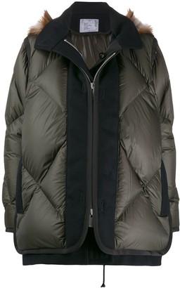 Sacai Layered Padded Jacket