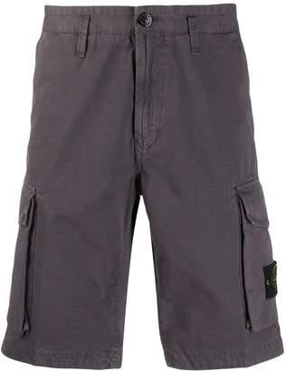 Stone Island classic cargo shorts