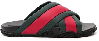 Gucci Web Slide Sandals