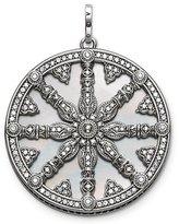 AmaranTeen - pendant silver pendant round shaped fit for bracelets TMS