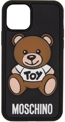 Moschino Black Toy Bear iPhone 11 Pro Case