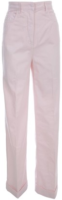 Philosophy di Lorenzo Serafini Long Straight High Waisted Pants