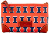 Dooney & Bourke NCAA Illinois Cosmetic Case