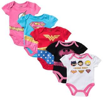 Justice HAPPY THREADS League Bodysuits - Pack of 5 (Baby Girls)