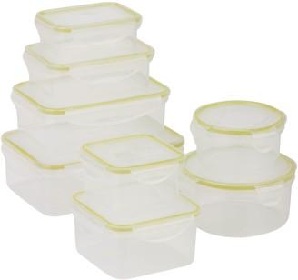 Honey-Can-Do 16-Piece Locking Food Storage Set