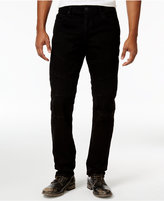 True Religion Men's Rocco Slim-Fit Stretch Moto Jeans