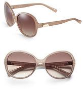 Calvin Klein 58mm R701S Round Sunglasses