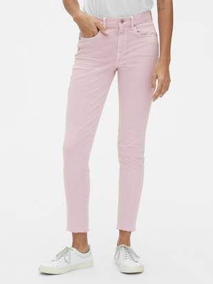 Gap Mid Rise True Skinny Ankle Jeans in Lilac